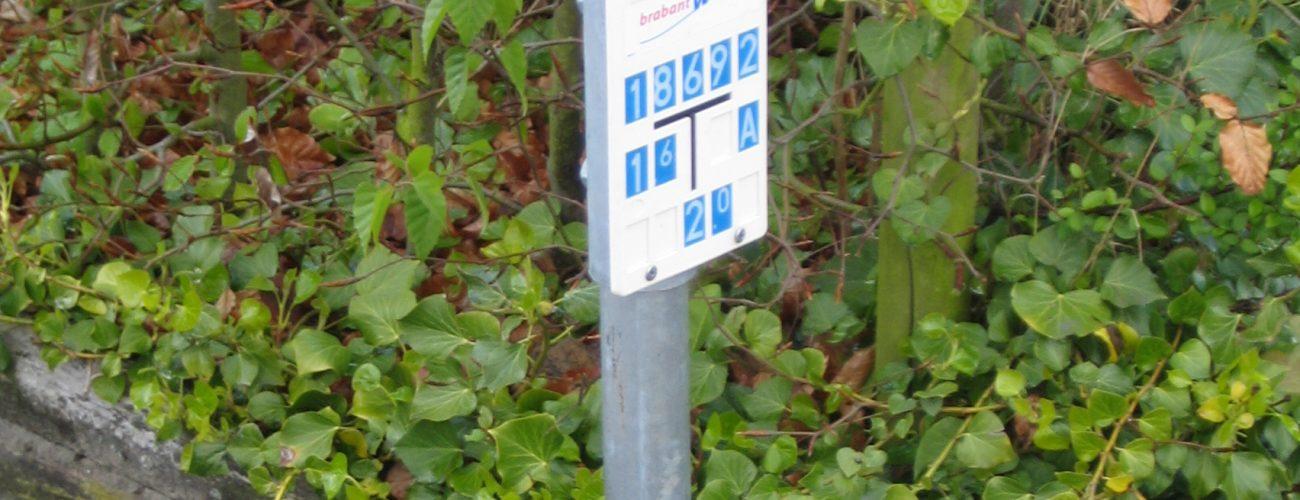 Markering van leidingen